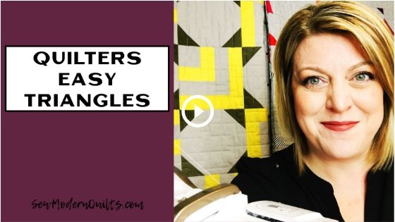 Easy Triangles for Quilters