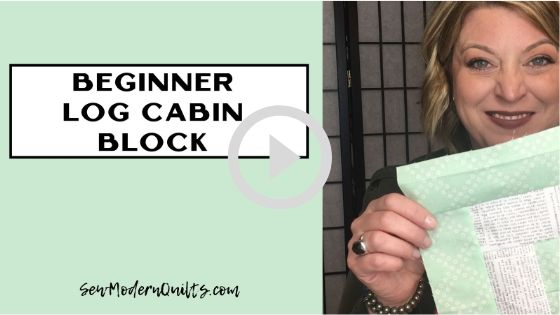 Beginner Log Cabin Block