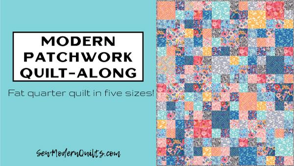 Modern Patchwork Quilt-Along