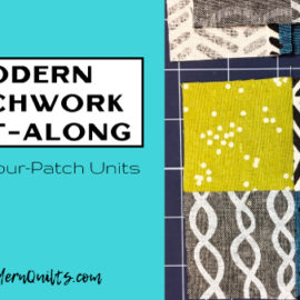 Modern Patchwork Quilt-Along at SewModernQuilts.com