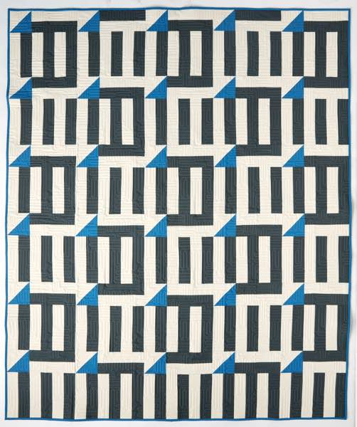 Double Dash Quilt Pattern by Amy Ellis