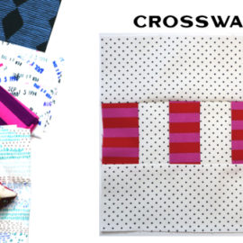 Modern Quilt Block Series - Crosswalk Block Pattern by Amy Ellis