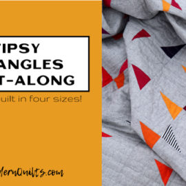 Tipsy Triangles Quilt-Along with Amy Ellis