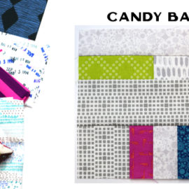 Candy Bar Block by Amy Ellis for Modern Quilt Block Series