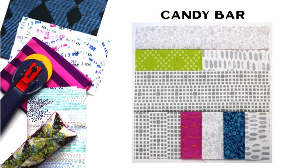 Candy Bar Block: Modern Quilt Block Series