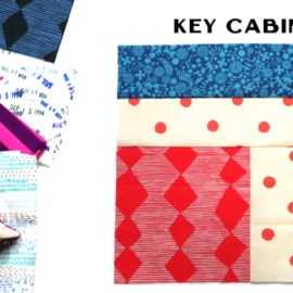 Key Cabin Block by Amy Ellis for Modern Quilt Block Series