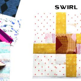 Swirl Block by Amy Ellis for Modern Quilt Block Series