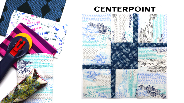 Centerpoint Block by Amy Ellis for Modern Quilt Block Series