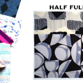 Half Full Block by Amy Ellis for Modern Quilt Block Series
