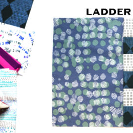 Ladder Block by Amy Ellis for Modern Quilt Block Series