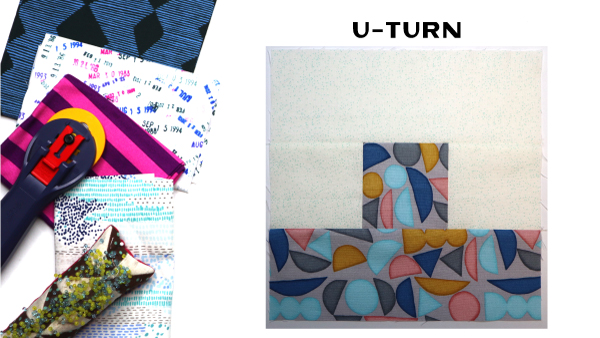 U-Turn Block by Amy Ellis for Modern Quilt Block Series