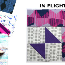 In Flight Block by Amy Ellis for Modern Quilt Block Series
