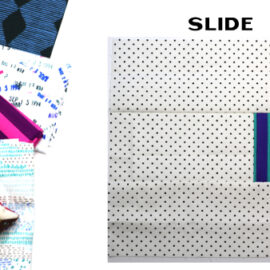 Slide Block by Amy Ellis for Modern Quilt Block Series