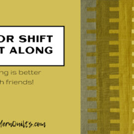 Color Shift Quilt Along - SewModernQuilts.com