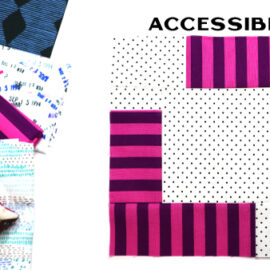 Accessible Block by Amy Ellis for Modern Quilt Block Series