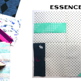 Essence Block by Amy Ellis for Modern Quilt Block Series