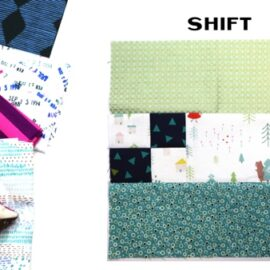 Shift Block by Amy Ellis for Modern Quilt Block Series
