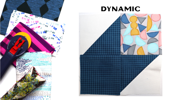 Dynamic Block by Amy Ellis for Modern Quilt Block Series