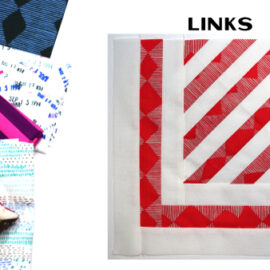 Links Block by Amy Ellis for Modern Quilt Block Series