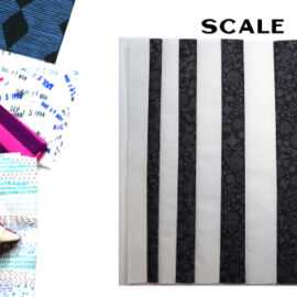 Scale Block by Amy Ellis for Modern Quilt Block Series