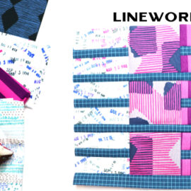 Linework Block by Amy Ellis for Modern Quilt Block Series