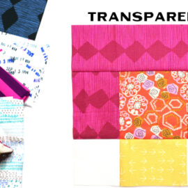 Transparency Block by Amy Ellis for Modern Quilt Block Series