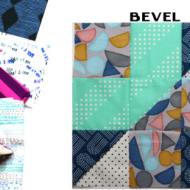 Bevel Block by Amy Ellis for Modern Quilt Block Series