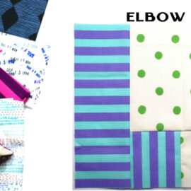 Elbow Block by Amy Ellis for Modern Quilt Block Series