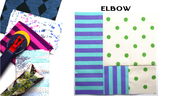 Elbow Block: Modern Quilt Block Series