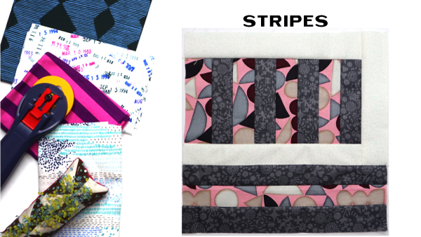 Stripes Block: Modern Quilt Block Series