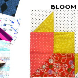 Bloom Block by Amy Ellis for Modern Quilt Block Series