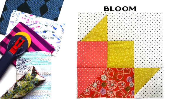 Bloom Block: Modern Quilt Block Series