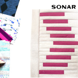 Sonar Block by Amy Ellis for Modern Quilt Block Series