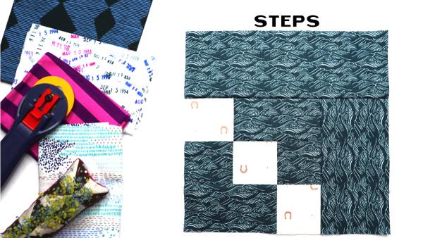 Steps Block: Modern Quilt Block Series