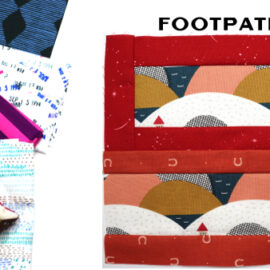 Footpath Block by Amy Ellis for Modern Quilt Block Series