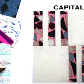 Capital Block by Amy Ellis for Modern Quilt Block Series