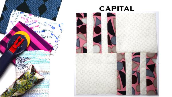 Capital Block: Modern Quilt Block Series