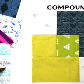 Compound Block by Amy Ellis for Modern Quilt Block Series