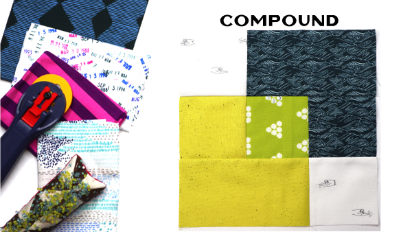 Compound: Modern Quilt Block Series