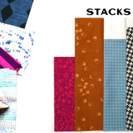 Stacks Block by Amy Ellis for Modern Quilt Block Series