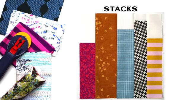 Stacks Block: Modern Quilt Block Series
