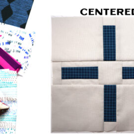 Centered Block by Amy Ellis for Modern Quilt Block Series
