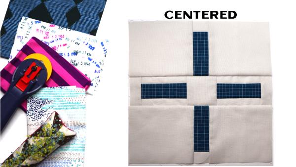 Centered Block: Modern Quilt Block Series