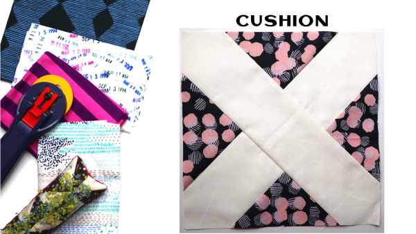 Cushion Block: Modern Quilt Block Series