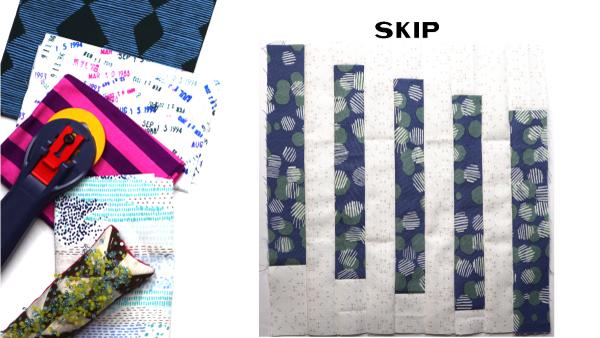 Skip Block: Modern Quilt Block Series