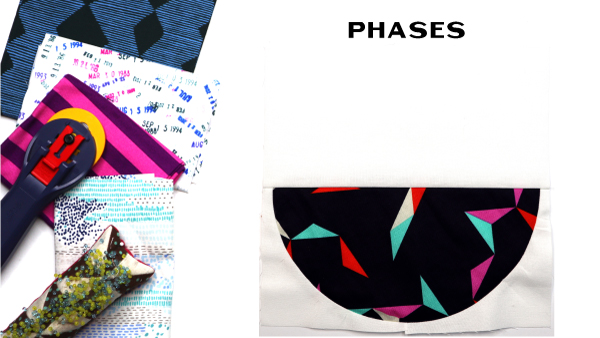 Phases Block by Amy Ellis for Modern Quilt Block Series