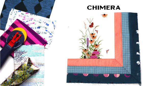 Chimera Block by Amy Ellis for Modern Quilt Block Series