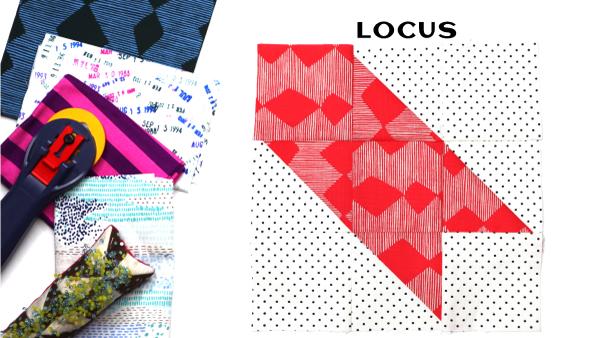 Locus Block by Amy Ellis for Modern Quilt Block Series